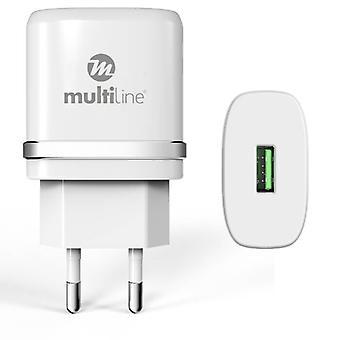 Multiline Power Adapter - 1A incl. Lightning Kabel