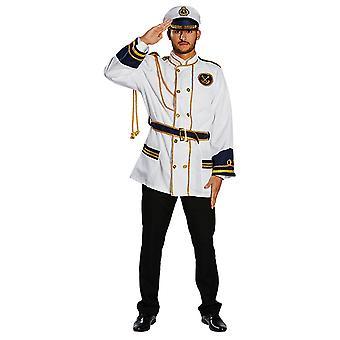 Admirał Kurtki Mężczyźni kostium oficer Armii karnawał