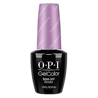 OPI GelColor Gel Farbe - Soak Off Gel Polish - Purple Palazzo 15ml (GC V34)
