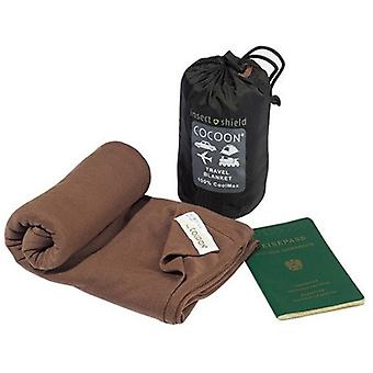 Cocoon Insect Shield CoolMax Travel Blanket (Kalahari Brown)