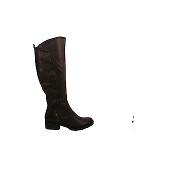 Bare Traps Womens Oria Leather Round Toe Knee High Fashion Boots