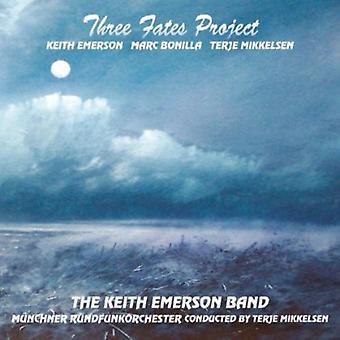 Keith Emerson Band - drie Fates Project [CD] USA import