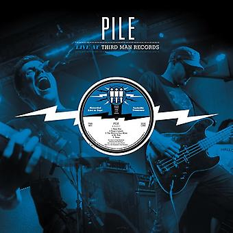 Pile - Live at Third Man Records 04-16-2017 [Vinyl] USA import