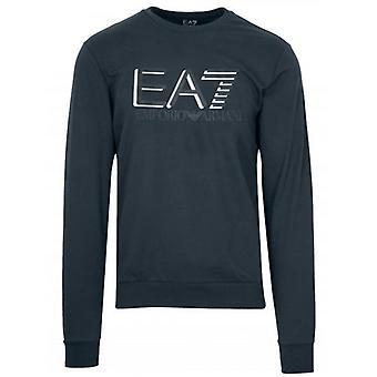 EA7 Blue Note Logo Sweatshirt