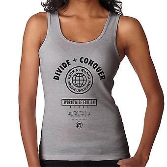 Opdel & erobre Worldwide Edition Globe kvinder ' s vest