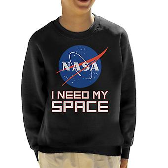 NASA I Need My Space Kid's Sweatshirt