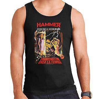 Hammer Frankenstein Crea La Femme Poster Men es Vest