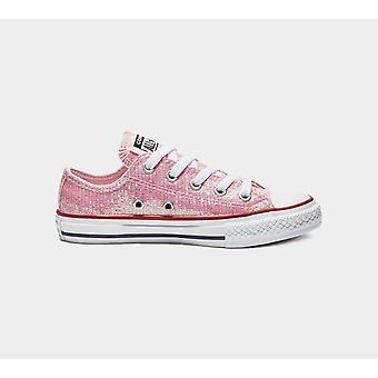 Converse Ctas Ox 662628C Pink Girls Shoes Boots