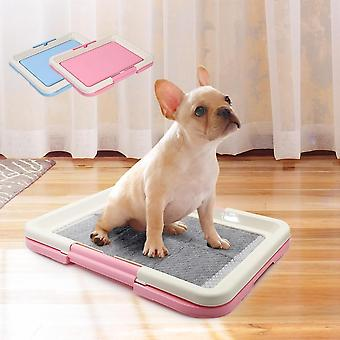 Portable Pet Toilet Potty Litter Tray Pad Mat For Dogs Cats