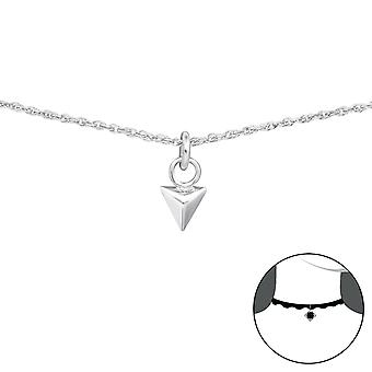Triangle - 925 Sterling Silver Chokers - W34695x