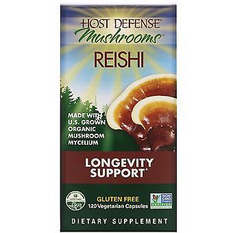Fungi Perfecti, Reishi, Longevity Support, 120 Vegetarian Capsules