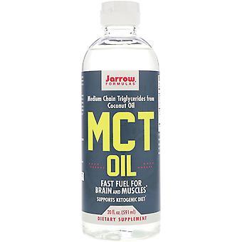 Jarrow Formulas, MCT Oil, 20 fl oz (591 ml)
