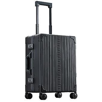 "ALEON Domestic Carry-On Hand Luggage Trolley 21"" 4 Ruedas, 40 cm, 36.2 L, Negro"