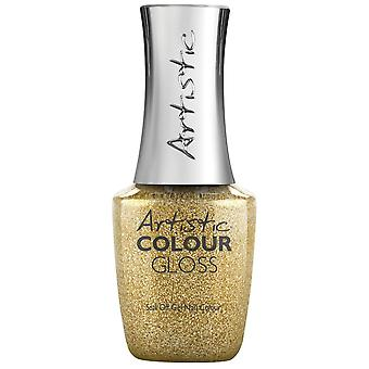 Artistic Colour Gloss Disco Nights, Festive Lights 2019 Gel Polish Collection - Yank My Gold Chain (2700246) 15ml