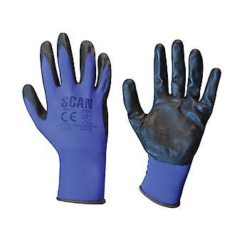 Scan Max. Dexterity Nitril handschoenen - Extra Groot (Maat 10)
