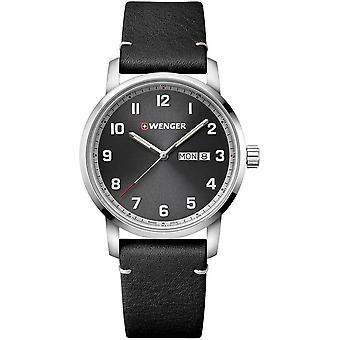 Wenger - Wristwatch - Men - Attitude - 01.1541.116 - grey, 42 mm