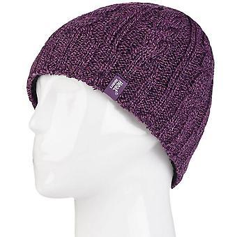 Heat Holders Women's Heat Holders® 3.4 Tog Hat Purple