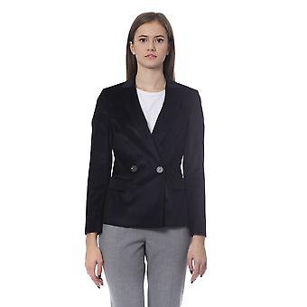 Peserico Classic Double Breasted Front Pocket Blazer