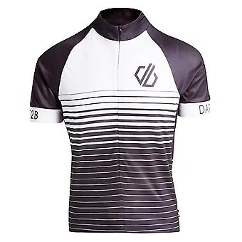 New Dare 2B Hombres's AEP Alternation Cycling Jersey Negro