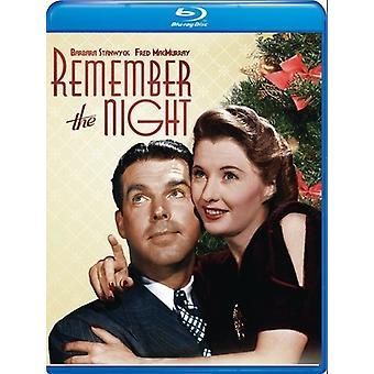 Remember the Night [Blu-ray] USA import