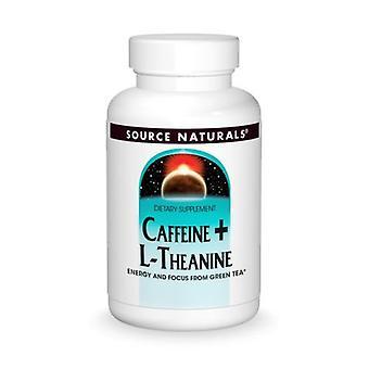 Quelle Naturals Caffeine+ L-Theanin, 60 Tabs