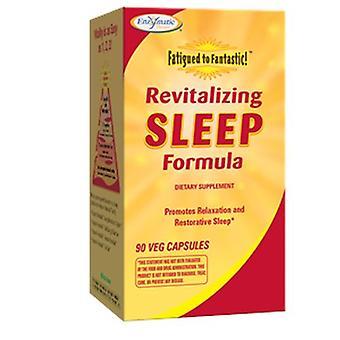 Thérapie enzymatique fatiguée à la formule fantastique revitalisant de sommeil, 90 caps