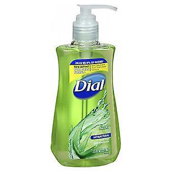 Dial Liquid Soap Pump With Aloe Moisturizers, 7.5 oz