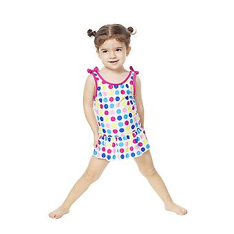 Bonverano Kids One Piece UPF 50+ Sun Protection Sunsuit Swimdress