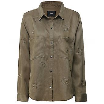 Rails Marcel Embroidered Stars Shirt