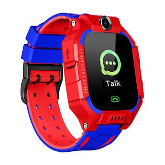 Lemfo Q19 Smartwatch for Kids with GPS Tracker Smartband Smartphone Watch IPS iOS Android Red