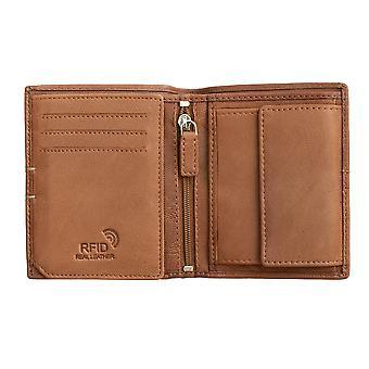 Primehide Leather Wallet Mens RFID Blocking Gents Card Holder Notecase 4800
