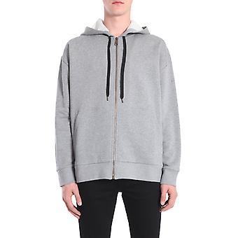 N°21 E07163658939 Men's Grey Cotton Sweatshirt