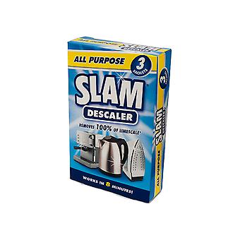 Kilrock Slam All Purpose Descaler 3 Sachet SLAMALLPURPOSE