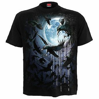 Spiral-Crow Moon-t-shirts