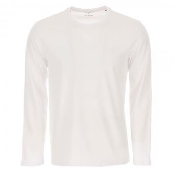 Emporio Armani Sous-vêtements Logo À manches longues T-Shirt Blanc 111287 0A578