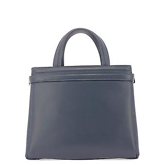 Serapian 6253m31d028 Women's Grey Leather Handbag