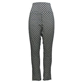 DG2 af Diane Gilman Women's Petite Pants Blue Pull-on Slim Leg 703-056