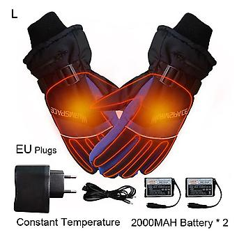 Electric Heated Gloves, Usb Hand Finger Heating Safety Constant Temperature