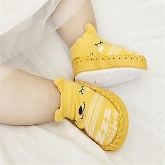 Sukat kumipohjia, vastasyntyneet vauvan kengät