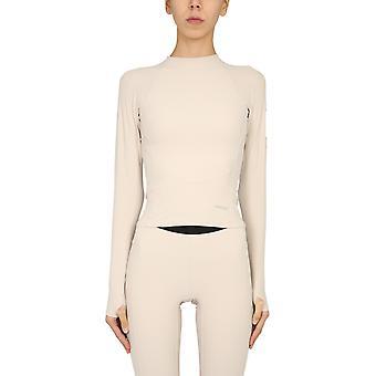 Agguato Bmad001f20fab0016100 Maglione in nylon beige da donna