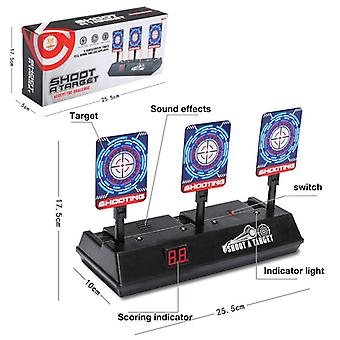 Children Running Shooting Targets Guns Game Toy.