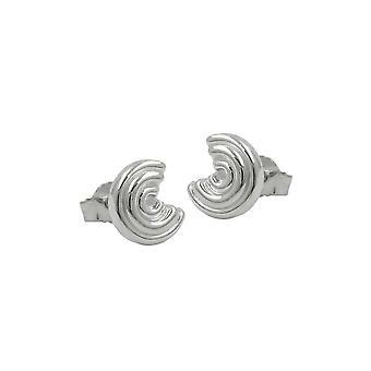 Nasta korvakorut pyöreä hopea 925