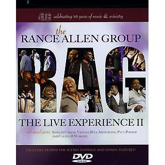 Allen, Rance Group - Live Experience II [DVD] USA import