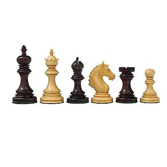 Luxury Staunton Garvi 4.25 inch Rosewood Chessmen