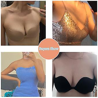 Adhésif Invisible Bras Femmes Sexy Lingerie Seamless Silicone Sticky Bralette