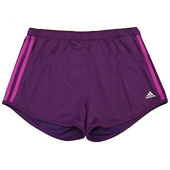 Adidas Performance Girls Kids Climachill Purple Training Pantaloni scurți D87747 UA37