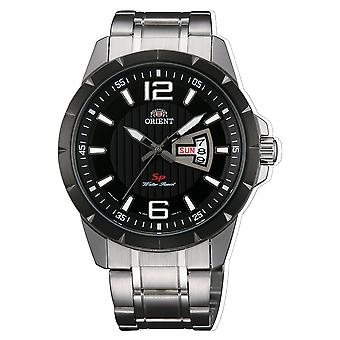 Orient Sport Watch FUG1X001B9 - Ruostumaton teräs Gents Kvartsi analoginen