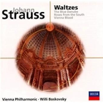Johann II Strauss Waltzes / Blue Danube CD