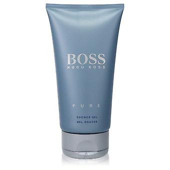 Boss Pure Shower Gel (unboxed) By Hugo Boss 5 oz Shower Gel