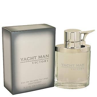 Yacht Man Victory by Myrurgia Eau DE Toilette Spray 3.4 oz / 100 ml (Men)